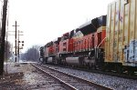 NS 9380, BNSF 6162 and 9143