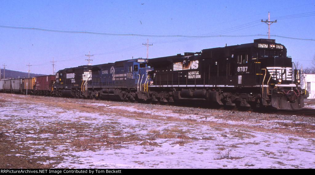 Ithaca coal train