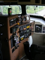 CN 5729's control stand