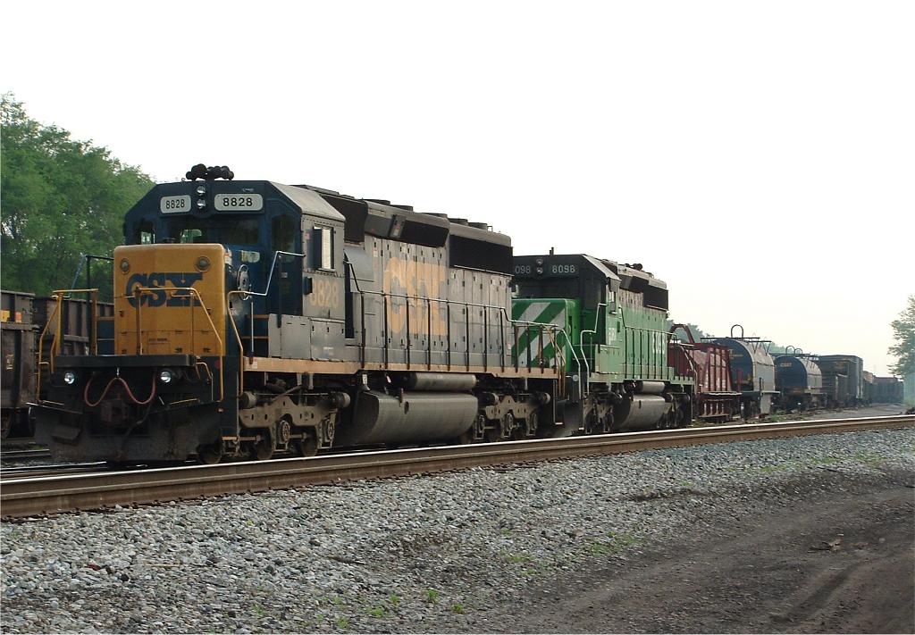Couple of SD40-2s