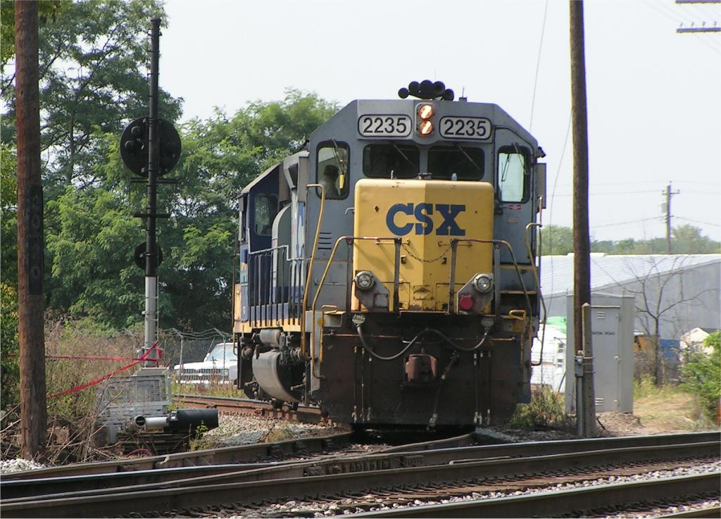 J783 turns the power on the cut off