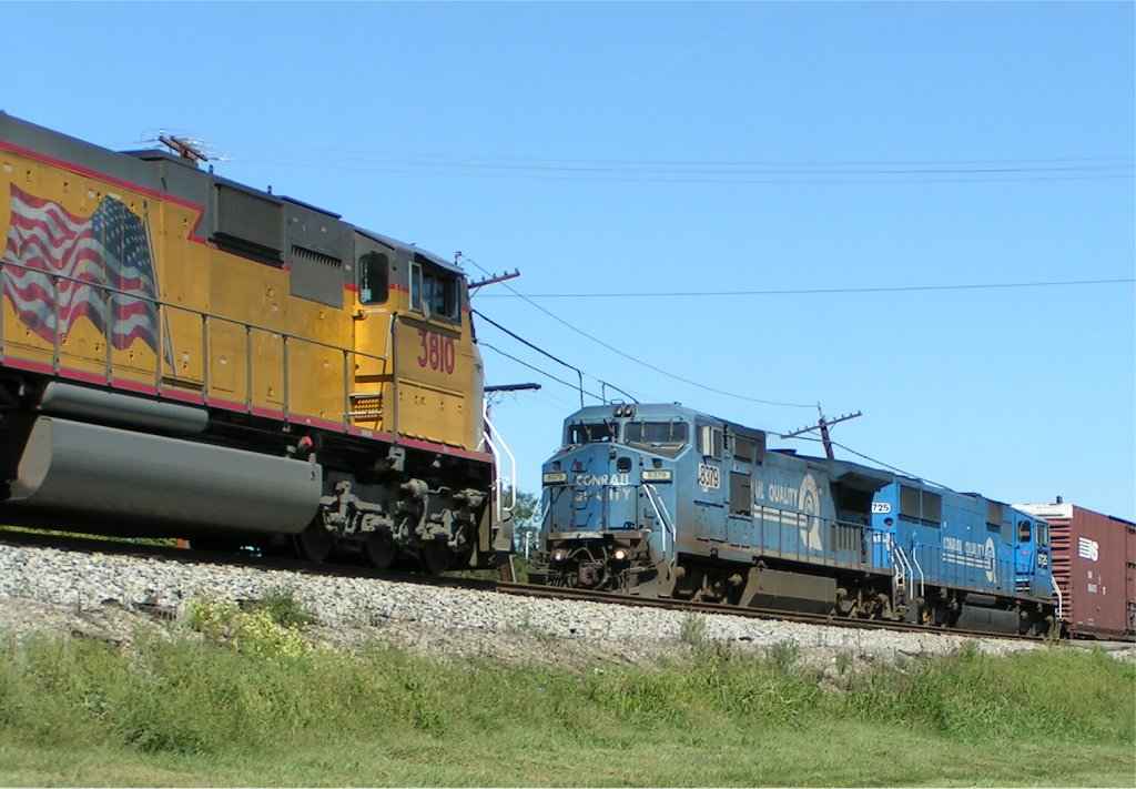 UP 3810 waits some more