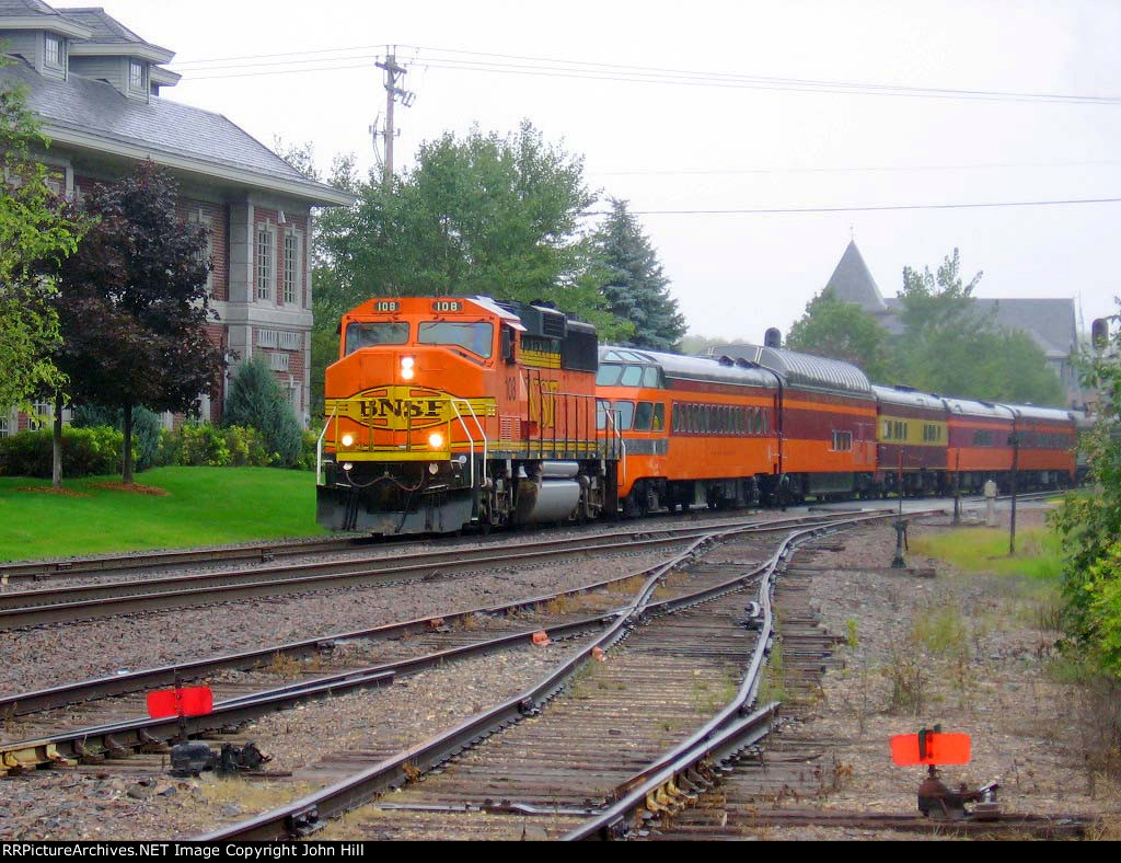 """060910010 MILW 261 """"James J. Hill Days"""" Steam Special"""