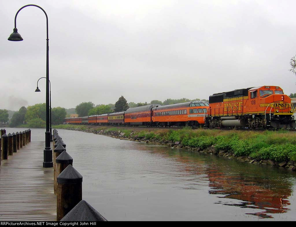 """060910052 MILW 261 """"James J. Hill Days"""" Steam Special"""