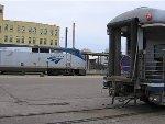 060401007 Amtrak #8 arrives Midway Depot