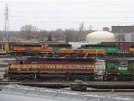 060411001 WC 7517 at BNSF Northtown diesel shop