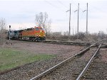 060411014 Westbound BNSF manifest crosses Park Junction diamond