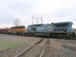 060411016 Westbound BNSF manifest crosses Park Junction diamond