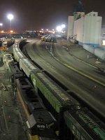 060411032 BNSF Northtown Yard at night