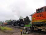 """060910018 MILW 261 """"James J. Hill Days"""" Steam Special"""