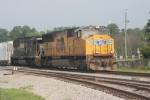 UP 3973 on the point of NS eastbound freight bound for Savannah