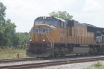 UP 4446 leads a NS train east-bound in August 06