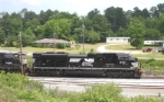NS 2727 leads train out of Gordon yard East-bound for Savannah 5-29-06