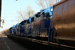 Great Lakes Central's new GP38-2's