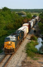 Q335 heads under Thornapple River Dr.