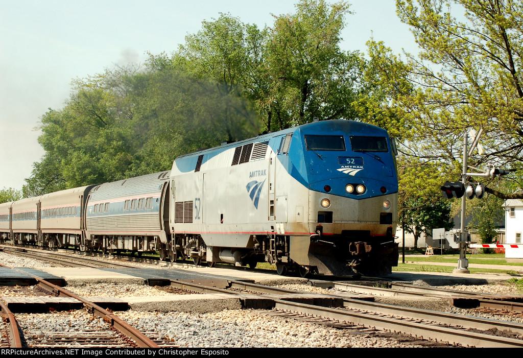 Amtrak P42 52