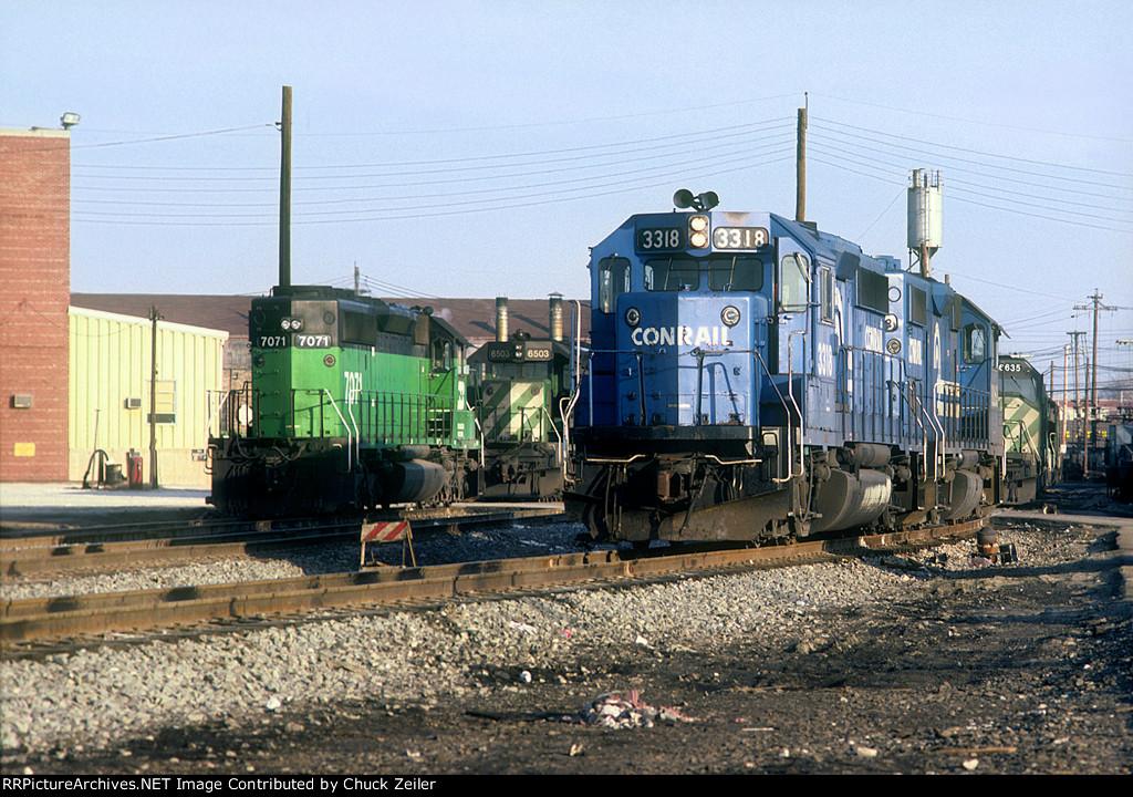 CR GP40-2 3318