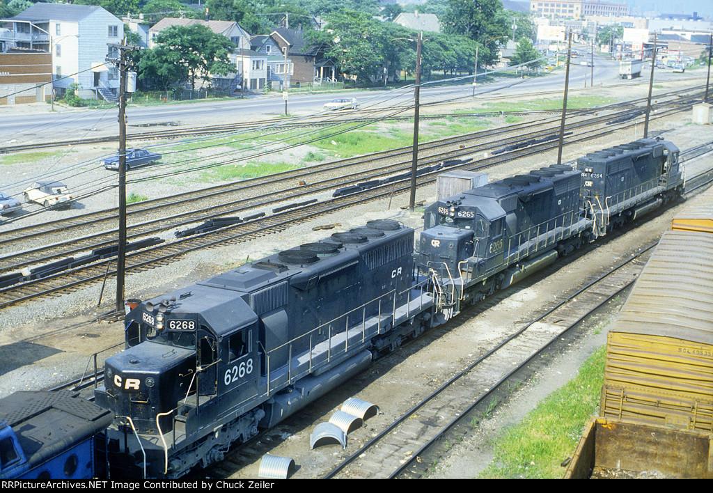 CR SD40 6268