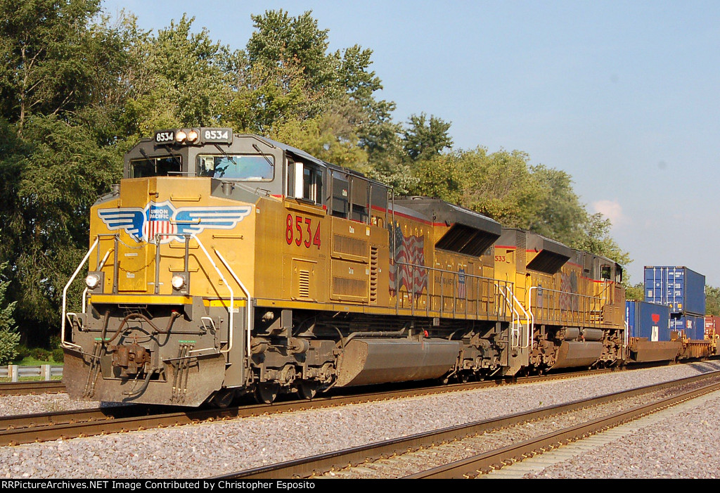 UP SD70ACe 8534