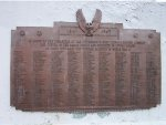 Plaque on P&WV World War 2 Monument