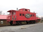 Former Lehigh Valley Caboose at Cooper Station Restaurant