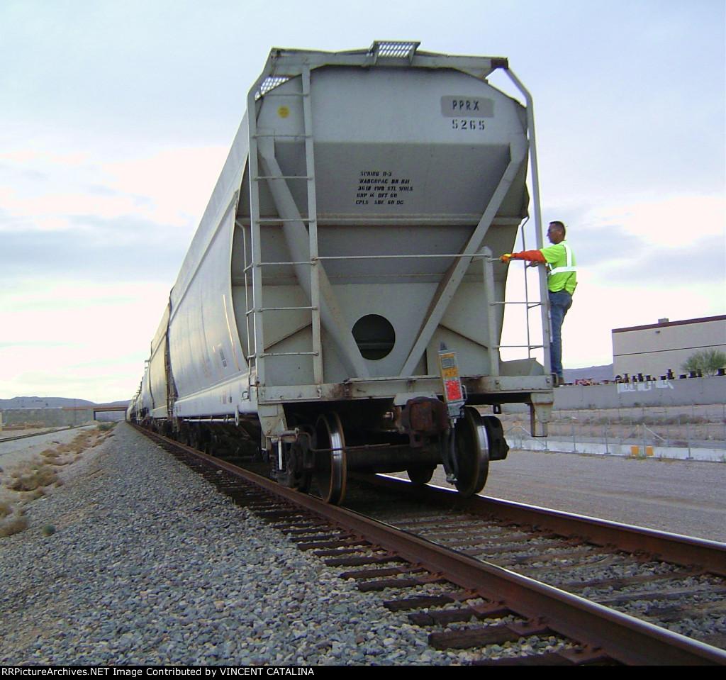 UP Train Crew