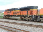 BNSF 9137 / SD70ACe leading a coal train