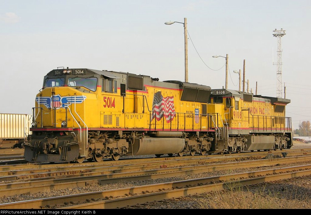 UP 5014 and UP 9108