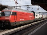 SBB Re460 097-9 at the train station