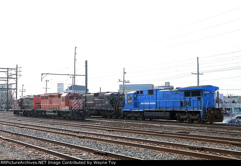 Pennsylvania Northeastern's new GP9RM sit with their other power