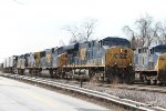 CSX 5387 leads the Q178 into the Baltimore Terminal area