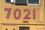UP 7021 was renumbered to 7374 and then returned back top 7021 (courtesy Utah Rails)