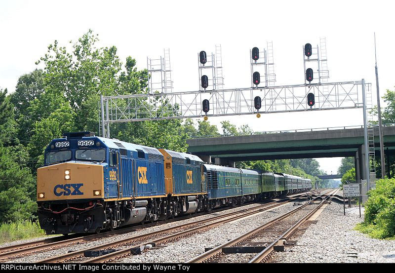 P955-26 OCS westbound on the Old Main Line