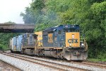 Q398-11 EB with CSXT 4029 SD40-3 leading