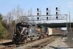 Q249-17 with HLCX 6300 leading