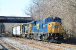 Q370-04 EB with SD80AC leading