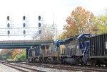 Q410-17 EB with MEC 609 trailing