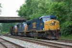 CSXT 648 leading U825-15
