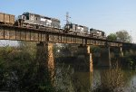 NS G10 crossing the Ocumulgee