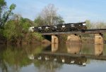 GC 3917 leading Y101 over the Ocumulgee