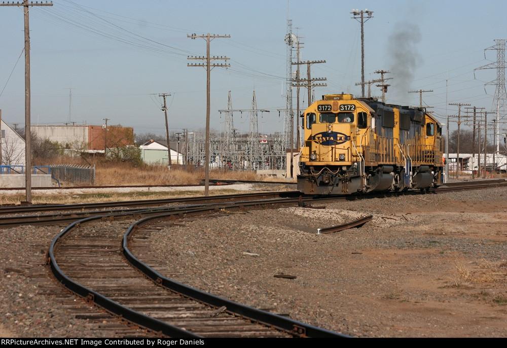 BNSF 3172