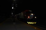 UTA 6 at Layton station heading north in the evening