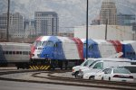 UTA 20, and 17 set at the hub in downtown Salt lake