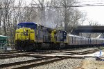 P921-28 @ St. Denis (RBBX Circus Train Blue Unit)