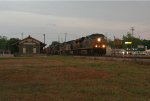 NB freight by the depot
