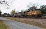 SB freight heading for Waycross to meet Q282