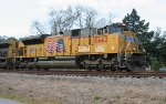 UP 8442 on SB freight