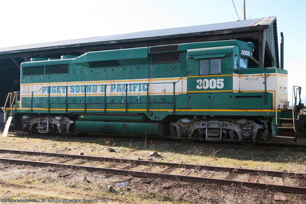 Puget Sound & Pacific Railroad 3005