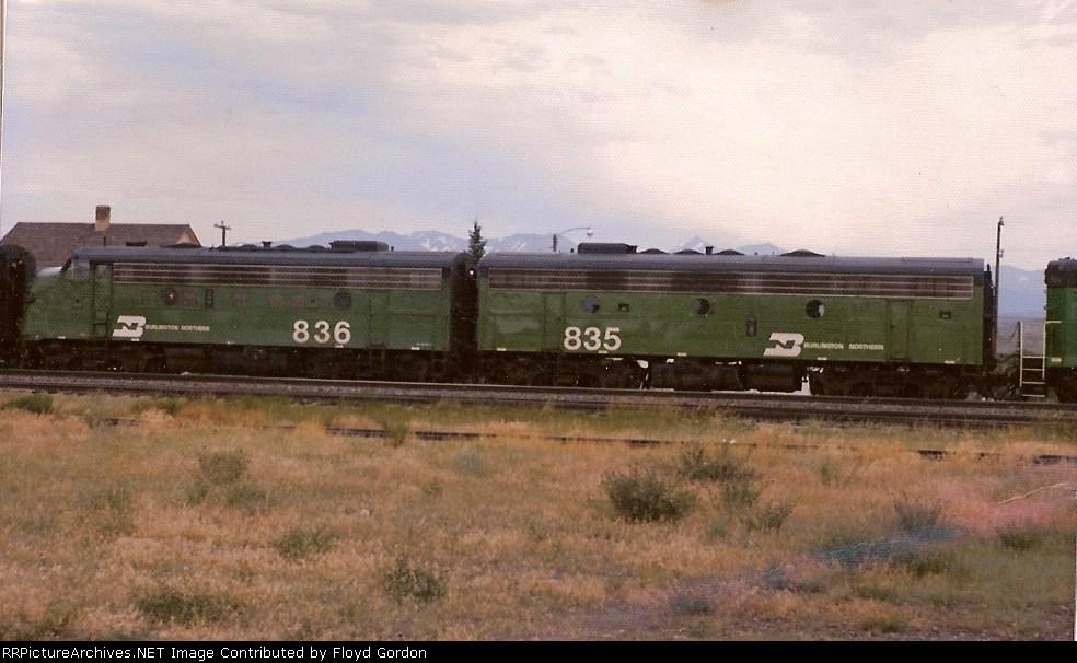 BN 836, BN 835
