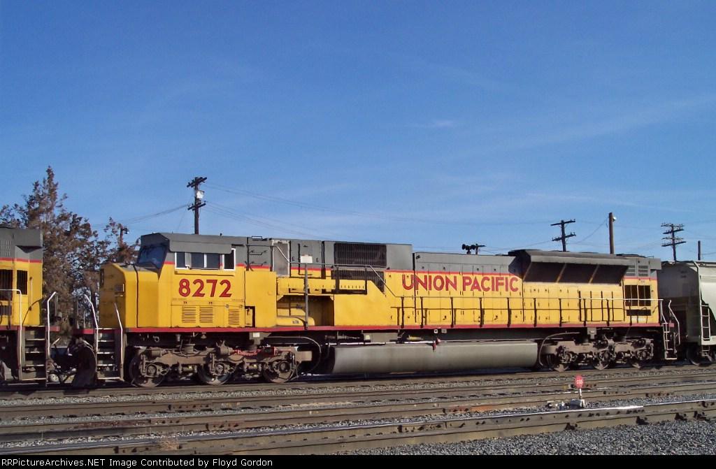 UP 8272 on Soda Ash Unit Train